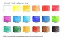 Sakura Koi Watercolor Paint Set with Brush, 12 18 24 30 Colors Sketch Drawing image 6