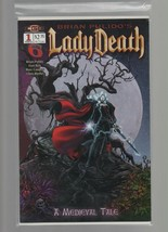 Lady Death #1 - March - Code 6 Comics - A Medieval Tale - Brian Pulido. - $2.93