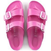Birkenstock Womens Arizona Eva Neon Pink Narrow Straps Fashion Sandals 1... - £57.81 GBP