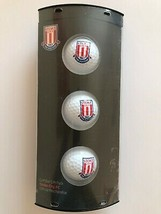 3 STOKE CITY FOOTBALL CLUB CRESTED GOLF BALLS.  - $27.00