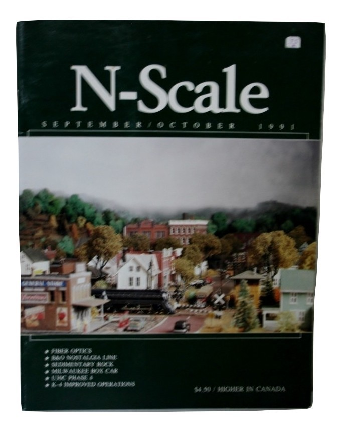 N-Scale September October 1991 Volume 3 Number 5