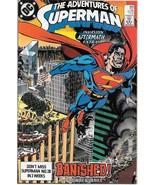 The Adventures of Superman Comic Book #450 DC Comics 1989 NEAR MINT UNREAD - $2.99