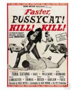 Faster pussy cat Kill Super Women RARE POSTER Art Print Size 12x18 Best ... - $11.69