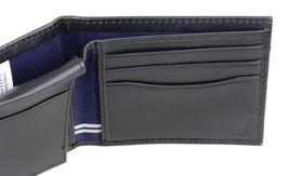 Nautica Men's Genuine Leather Credit Card Id Billfold Rfid Wallet 31NU220028 image 9