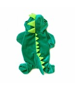 NACOCO Dog Dinosaur Design Costume Green Pet Clothes for Medium & Large ... - $18.80