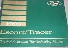1993 Ford Escort Mercury Tracer Elektrisch Wiring Service Shop Manuell - $4.93