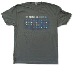 Nine Inch Nails-Live-Tension 2013 Tour-Charcoal Grey Lightweight T-shirt - $21.99