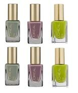 L'Oreal   Set of 6 Nail Polish Assorted Colors Pink Green - $15.99