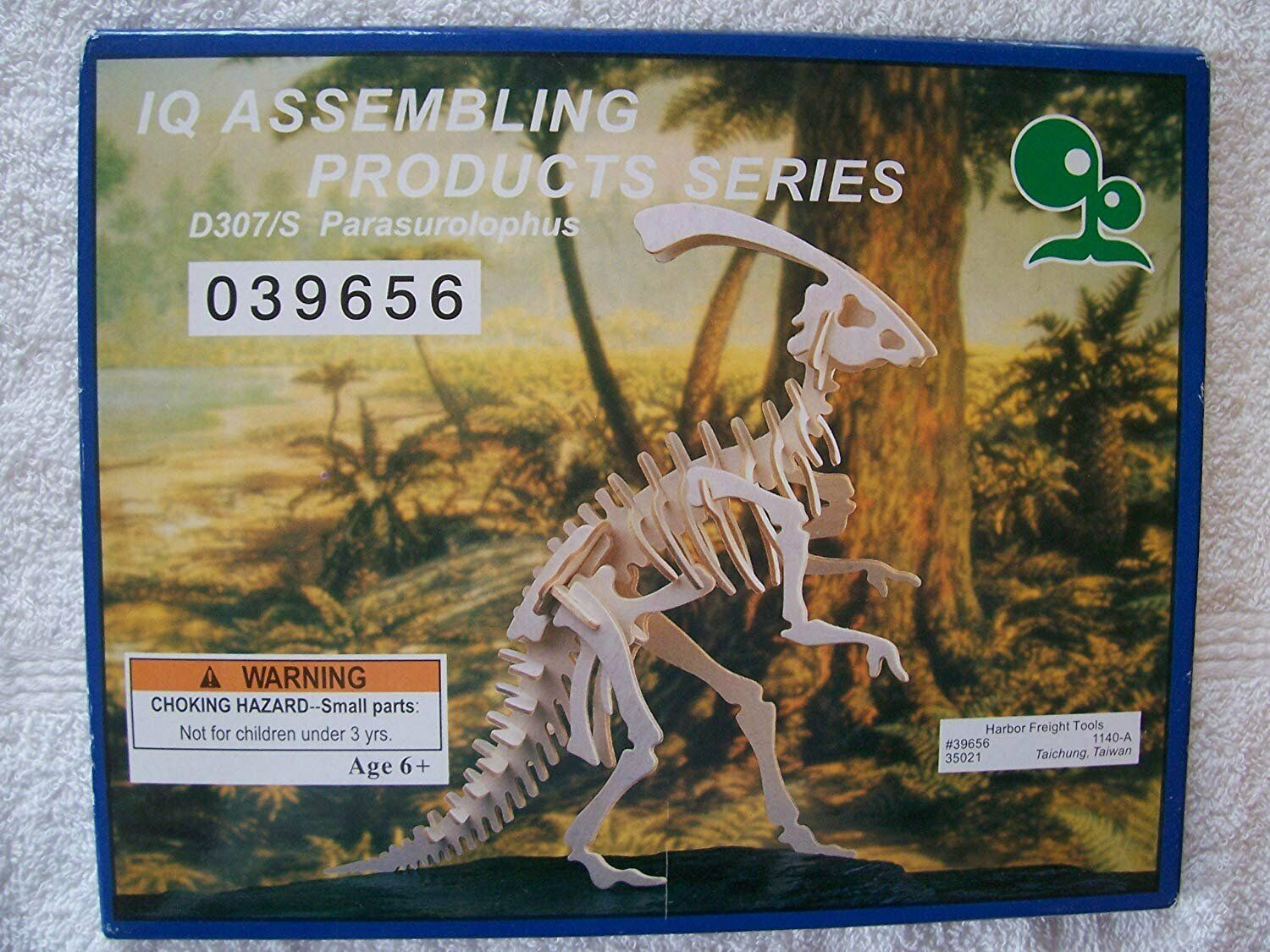 Primary image for IQ Assembling Products Series Wooden Model (Parasurolophus)