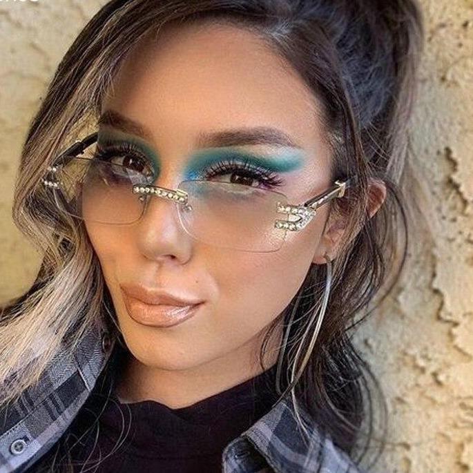 S women men steampunk vintage sunglasses rectangle punk eyeglasses luxury brand designer eyewear