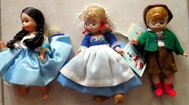 Doll Madame Alexander Lot 3 International Coll Austria Netherlands Israel Tags - $55.99