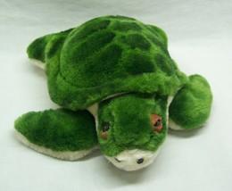 """Sea World NICE GREEN SEA TURTLE 8"""" Plush STUFFED ANIMAL Toy - $18.32"""