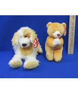 TY Beanie Babies Plush Original Stuffed Animals 1998 Hope & 2003 Diggs L... - $12.22