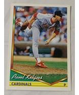 1994 TOPPS #737 PAUL KILGUS CARDINALS #4 - $1.00