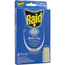 PIC CMOTHRAID Raid Clothing Moth Trap, 2 pk - $75.26