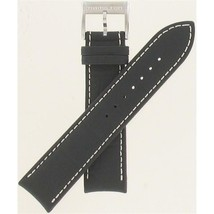 Hamilton 22mm Rubber/Leather American Classic JazzMaster Watch Band H600... - $138.60