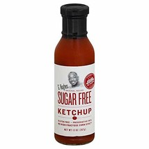 G Hughes Sugar Free Ketchup, 13 Ounce Bottle, Gluten Free, No High Fructose Corn