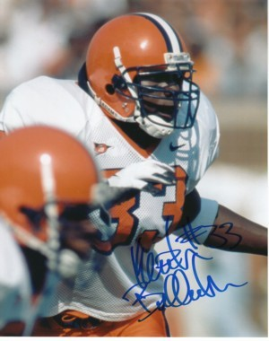 Keith Bulluck signed Syracuse Orange 8x10 Photo
