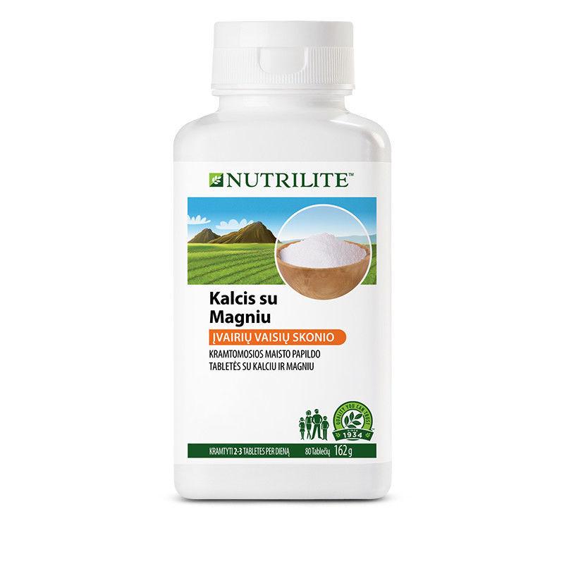 Calcium with magnesium chewable tablets bone dental condition 80 capsules - $25.99