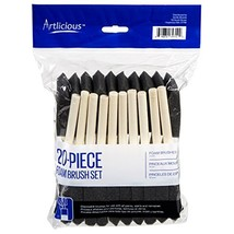 Artlicious - Foam Paint Brush Value Pack (Two Inch - 20 Pack) - $10.28