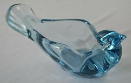 Fenton Open Bird #5240  Blue  1990-1991 - $18.32