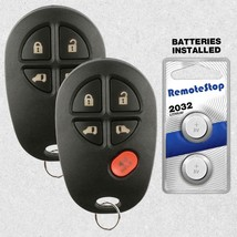 2 For 04 05 06 07 2008 2009 2010 2011 2012 2013 Toyota Sienna Remote Car... - $21.75