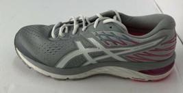 Asics Women's GEL-Cumulus 21 Running Size 11 Piedmont Grey/ White 1012A468  - $69.29