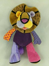 "Enesco Leonardo Lion Plush 10"" Britto PopPlush Stuffed Animal - $9.13"