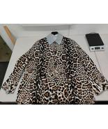 Bottega Veneta Leopard Print Coat - 538197 VEX01 - IT Size 40 - $2,999.88
