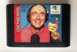 ☆ Dick Vitale's Awesome Baby College Hoops (Sega Genesis 1994) Game Cart Works ☆ - $4.25