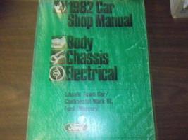 1982 Mercury Grand Marquis Service Shop Repair Manual Body Frame - $39.58