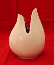 Schumann Arzberg Germany White Porcelain Onion Vase Christel Holmgren 19... - $48.13