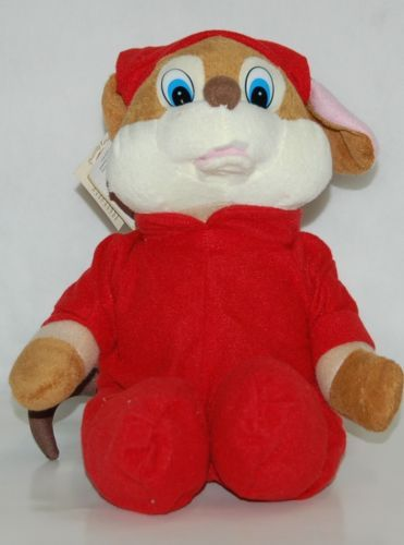Chantilly Lane 11 Inch Animated Singing Merry Mouse
