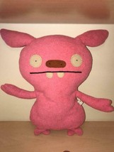 """Ugly Doll UGLYDOLL 12"""" Plush Pink PUGLEE  Discontinued 2007 - Rare - $8.00"""