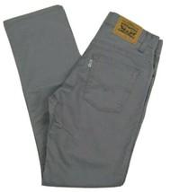 Levi's 511 Slim Fit Tapered Leg Jeans Boys Size 14 Reg W27 X L27 Gray  - $18.76