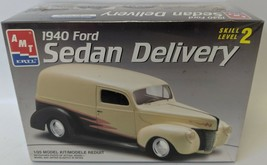 1997 AMT 1:25 Scale 1940 FORD Sedan Delivery Truck Car Model Kit #8215, ... - $15.00