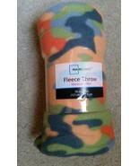 Mainstays Color Camo Fleece Blanket - $9.90