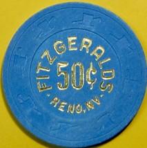 50¢ Casino Chip, Fitzgeralds, Reno, NV. T65. - $4.99
