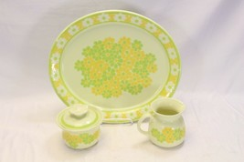 Franciscan Picnic  Platter Cream Sugar Bowl - $48.99