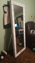 Lighted full length  dressing mirror - $350.00