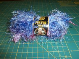 Fun Fur Prints Lion Brand 1.75oz Eyelash Fiji Lot # 6322 - $3.99