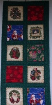 Quilted Long Christmas Table Runner - $109.00