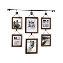 Multiple Picture Frame Set Big Wall Mount Photo Collage 5x7 8x10 Large A... - $1.061,79 MXN