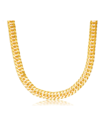 24K Pure Gold Necklace Real AU 999 Solid Gold Chain Good Gifts Man's Ups... - $5,999.99+