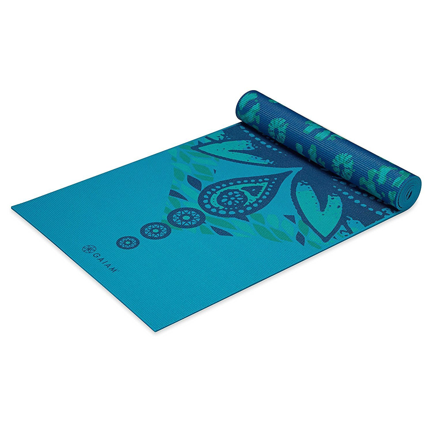 Gaiam Premium Print Reversible Yoga Mat