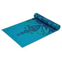 Gaiam Premium Print Reversible Yoga Mat - $49.95