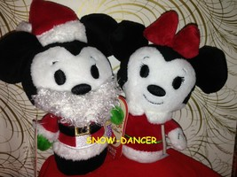Hallmark 2013 Disney Minnie Claus & Santa Mickey Limited Edition Itty Bi... - $49.99