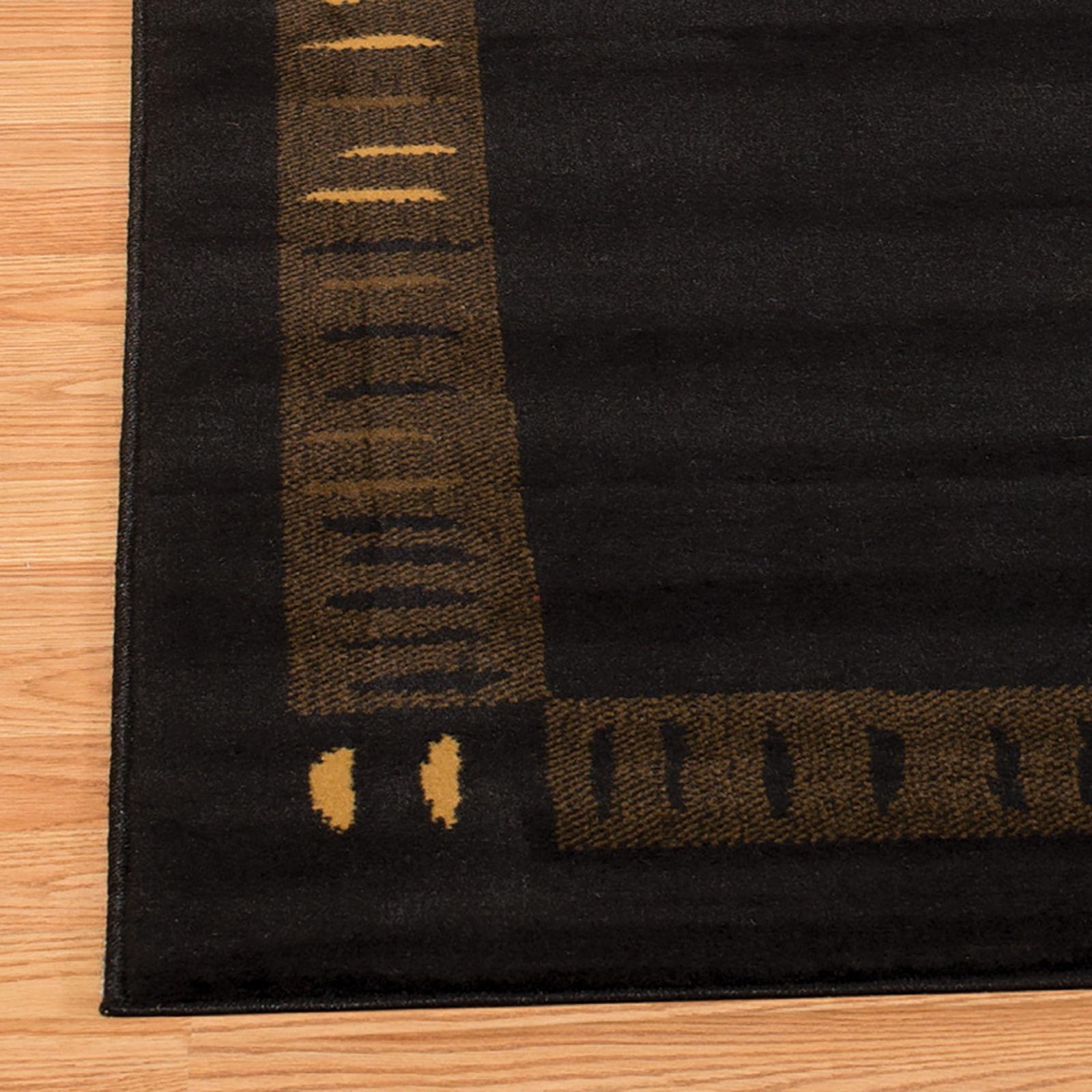 United Weavers China Garden Vanguard Black Area Rug 5'3'' x 7'2''
