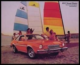 1977 Ford Pinto Brochure- Sedan, Rallye, Pony, Runabout - $7.92