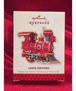 Hallmark Keepsake Ornament Santa Certified 1st in Series 2013 - $11.88